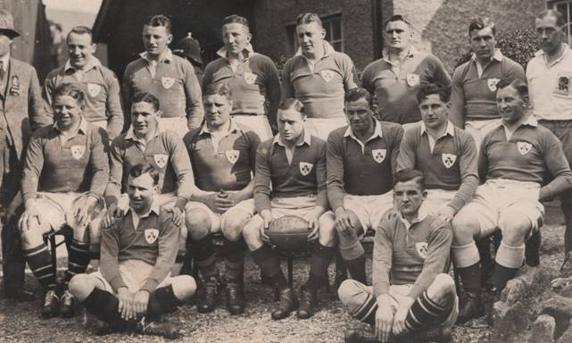 Ireland Team 1933 vs Scotland